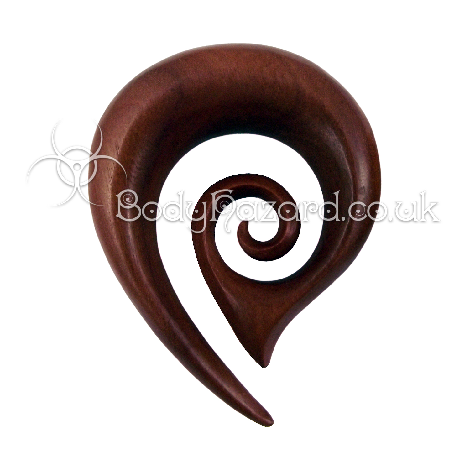 Saba Wood Drop Spiral