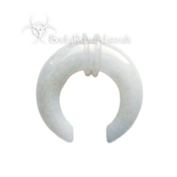 Snow White Quartz Jade Stone Pinchers